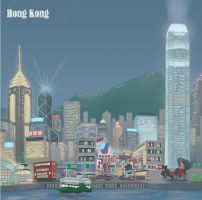 Hong Kong by discogangsta
