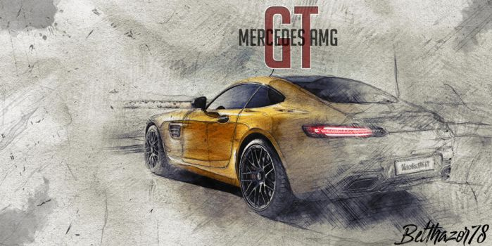 Mercedes AMG - GT by Belthazor78