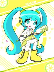 Miku da yo! (Yellow) by dr-light13