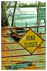 Road Closed by erbphotography