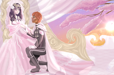 The Gothivian Quintet: The Princess and Her Knight by Cassie-Drey