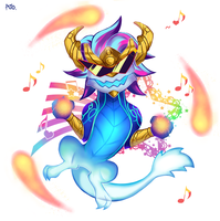 lol_dancing aurelion sol by Nanghyang