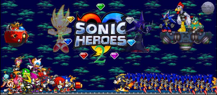 Sonic Heroes 2 'finished' by BatboyEXE