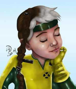 Baby Rogue by man0ftomorrow