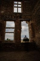 Houghton House and the Ghost of Me! by Mincingyoda