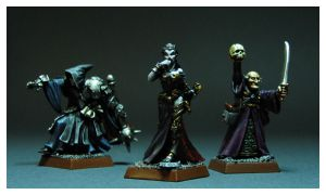 Mordheim Vampire and Casters by DorianM