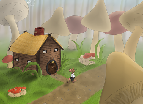 Mouse with a House by locomore