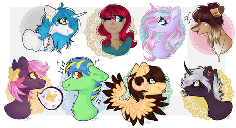 Headshot request batch 2/2 by CandyCrusher3000