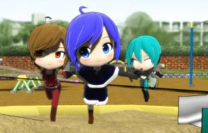 (MMD) Meito and Kaiko download by MMDblackcat
