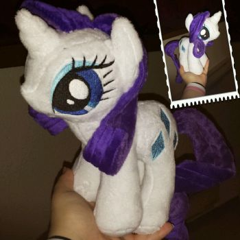 MLP 10 inch standing Rarity -- BronyCon 2015 by RubioWolf