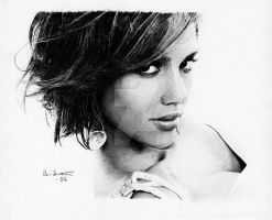 Jessica Alba 'Hair exercise' by Per-Svanstrom