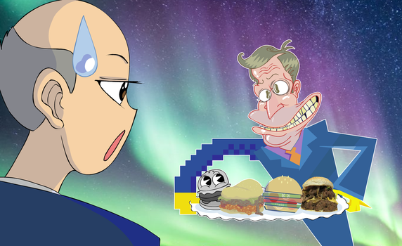 Steamed Hams but the art style is inconsistent by Smorgasboredom