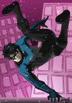 Nightwing - Let It Snow by DeanGrayson