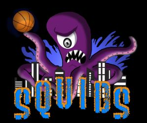 Sports Team Logo - The Squids by BillAxt