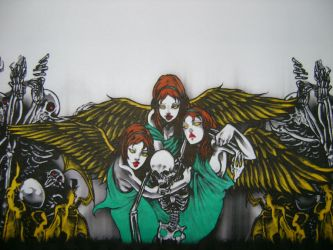Avenged Sevenfold Angels by PZZL