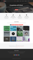 2 in 1 WordPress Theme by wpthemes