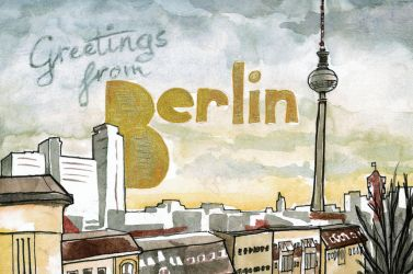 Greetings from Berlin by DagronRat