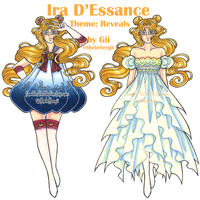 Ira D'Essance: Sailor Moon Transforming Dress by thelettergii