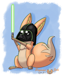 May The Floof Be With You by PegasusJedi