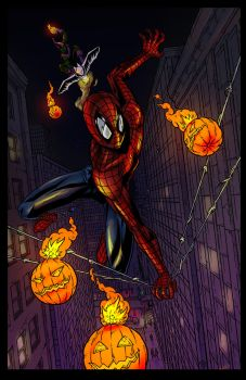 Spidey Goblin Colors by PackRatTheArtist