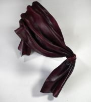 Wrapped up leather blindfold by Shadows-Ink