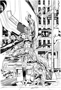 X-O MANOWAR # 49 PAGE # 14 INKS by AllPat