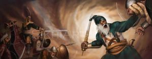 Baba Deep Singh by prince911