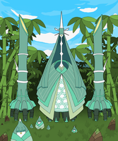 Celesteela in Bamboo Forest