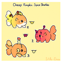 [1/3 OPEN] Pumpkin Spice Adopts by Sila--Chan