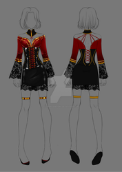 (closed) Auction Adopt - Outfit 237 by CherrysDesigns