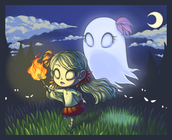 Don't Starve   Wendy and Abigail by NessaTasartir