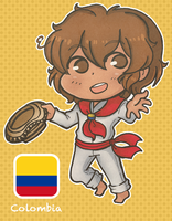 Chibi Colombia by rena-reindeer