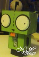 Papercraft Gir by nickwages