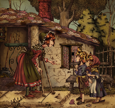 Hansel and Gretel by Cleopatrawolf