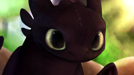 Toothless by nightfuryshadows