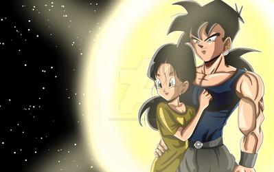 Commission : Son Gohan The Destroyer by KeynoRoyal