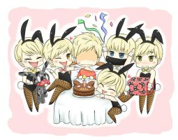 B.A.P 05 They wanna give BYG a surprise! 2012 by syewe-yoss