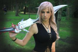Lightning Dissidia 012 Cosplay by Queen-Azshara