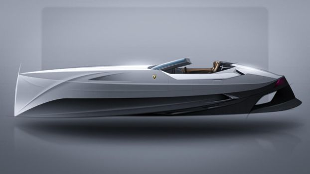Lamborghini WaterJet Concept by Bostaddesign