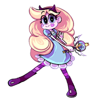 STAR VS. THE FORCES OF EVIL // Star Butterfly by AIR-DRY