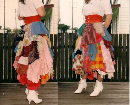 The Ragskirt by La-