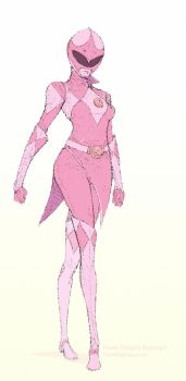 Pink Ranger Redesign by DaveRapoza