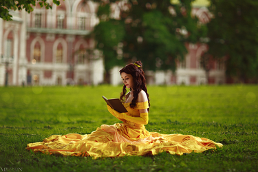 Beauty and The Beast - Belle by MilliganVick