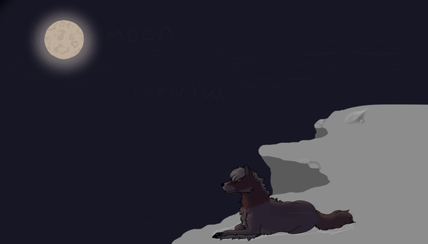 Looking over the cliff WIP by EviRegecht