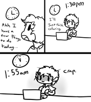 the life of an artist by DelightfullyOdd