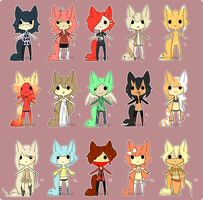 [tailmouth chibbums set 4] by sockjuice