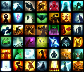 MMO Icons Up-to-date by Ikimono1