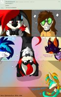 Ask 1 Handstands by TheLavaWolf