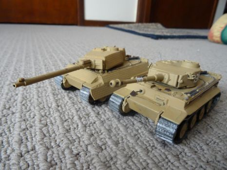 Tiger H1 and Super Tiger by u-67
