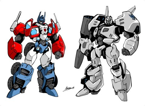 My TF movie design by NachoMon